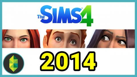 What was it like to play The Sims 4 in 2014?