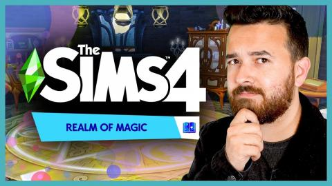 ✨The Sims 4 Realm of Magic - Build & Buy Overview 🔮
