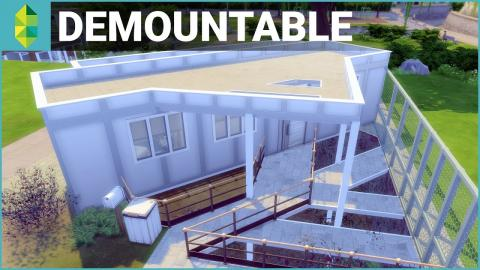 The Sims 4 House Building - Demountable