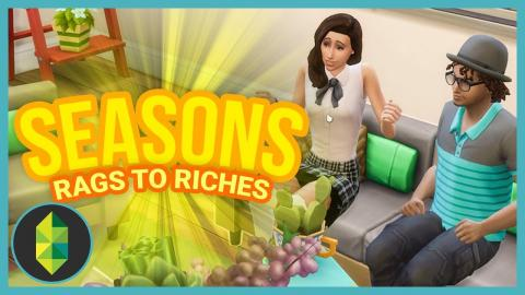LOVE INTEREST - Part 39 - Rags to Riches (Sims 4 Seasons)
