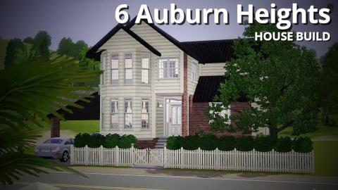 The Sims 3 House Building - 6 Auburn Heights
