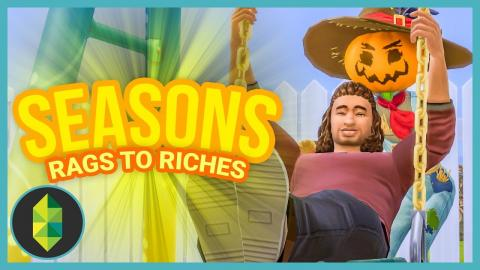 SWINGING WITH PATCHY - Part 14 - Rags to Riches (Sims 4 Seasons)