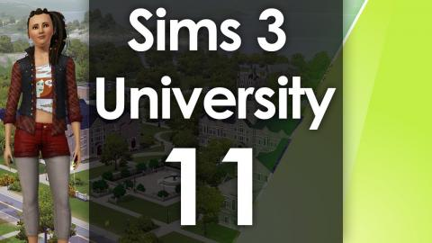 Let's Play The Sims 3 - University Life - Part 11: They are all DEAD!