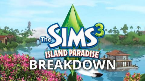 The Sims 3 Island Paradise - Trailer Breakdown