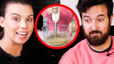Deli & James cook but James sucks...