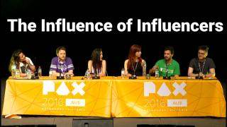 PAX Aus - The Influence of Influencers
