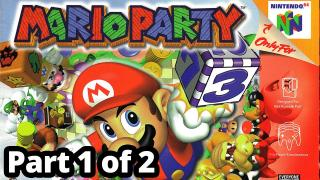 Mario Party 64 with Deligracy, KryticZeuz and CaithlinSims (Part 1/2)